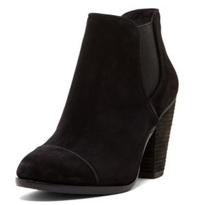 Vince Camuto Hame Suede Leather Ankle Boots 7.5